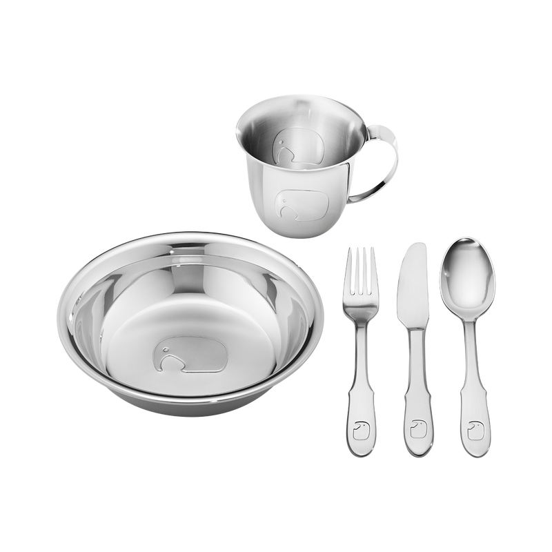 Georg Jensen Elephant  Kinder  Set