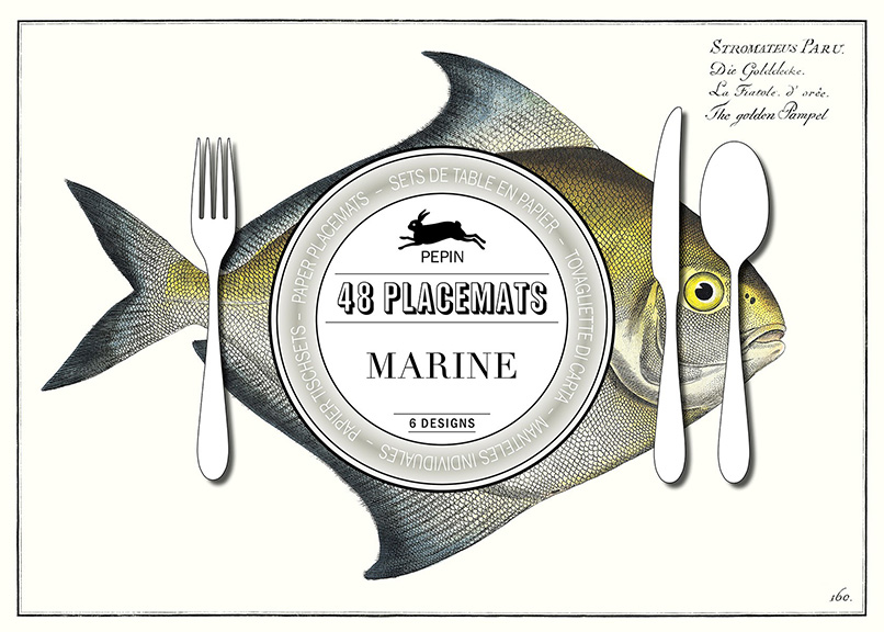 Pepin Press Marine Placemats Paper