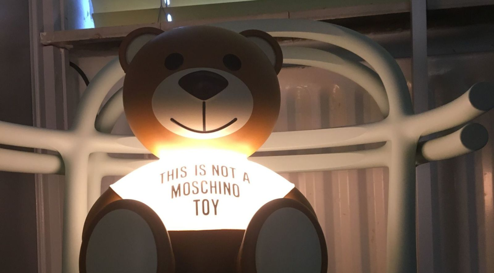 Not a Moschino Toy