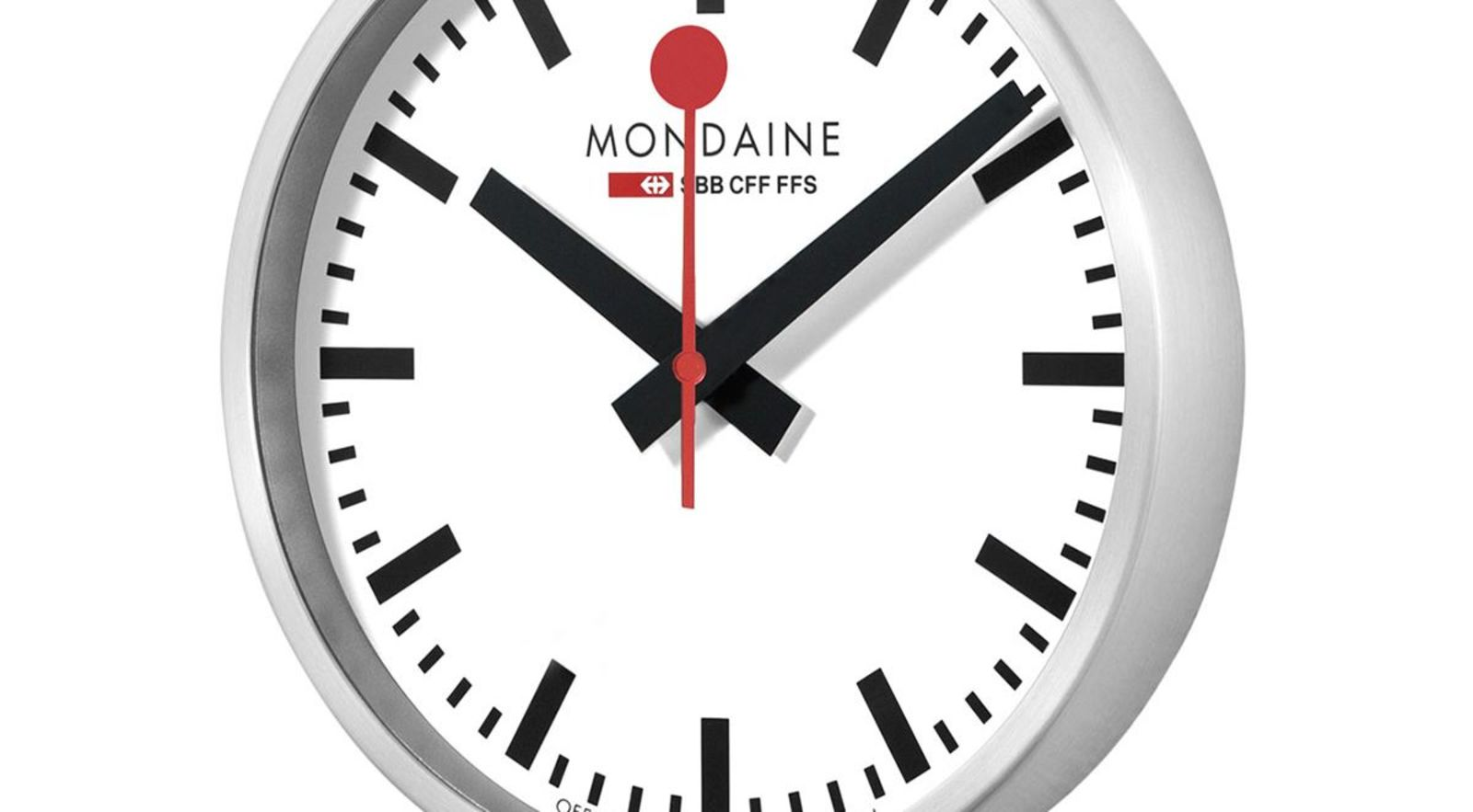 Mondaine Stop 2 Go Smart Wall Clock